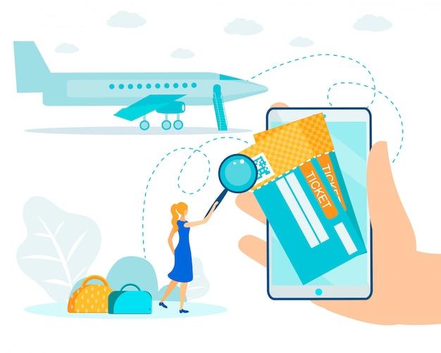 Boleto aéreo electrónico y sistema de facturación en línea Vector Premium