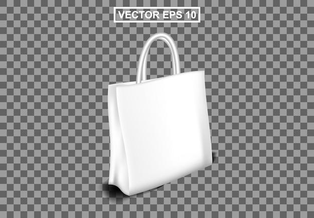 Bolso realista shoping, totebag business female Vector Premium