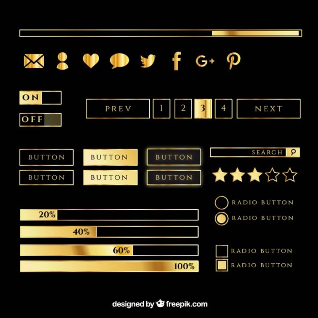 6cca56d950053 Botones e iconos de redes sociales para web