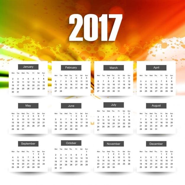 Pin Calendario 2017 En Psd Calendarios Gratis Para Photoshop Wallpaper ...