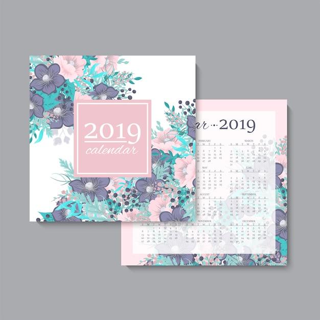 Calendario vector gratuito