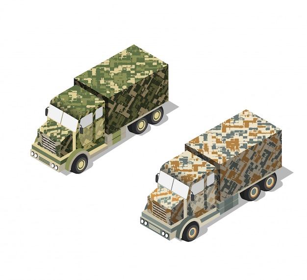 Camion militar del ejercito Vector Premium