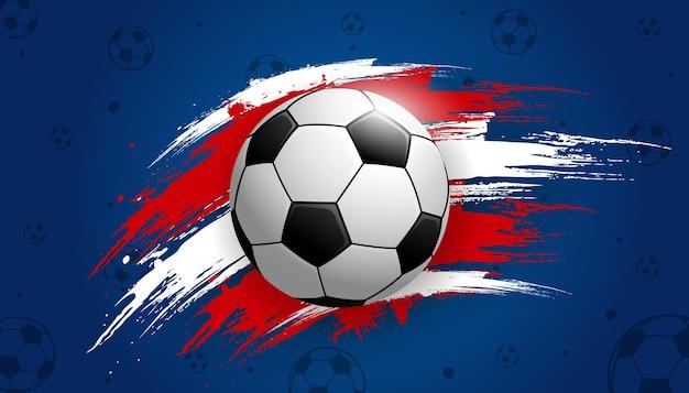 Deportes De Pelota Descargar Vectores Gratis: Campeonato De La Copa De Fútbol Con Pelota De Fútbol De