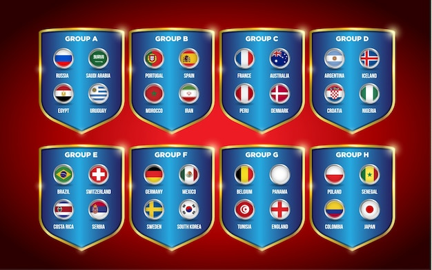 Campeonato mundial de fútbol 2018 grupos.  66a0363946f26