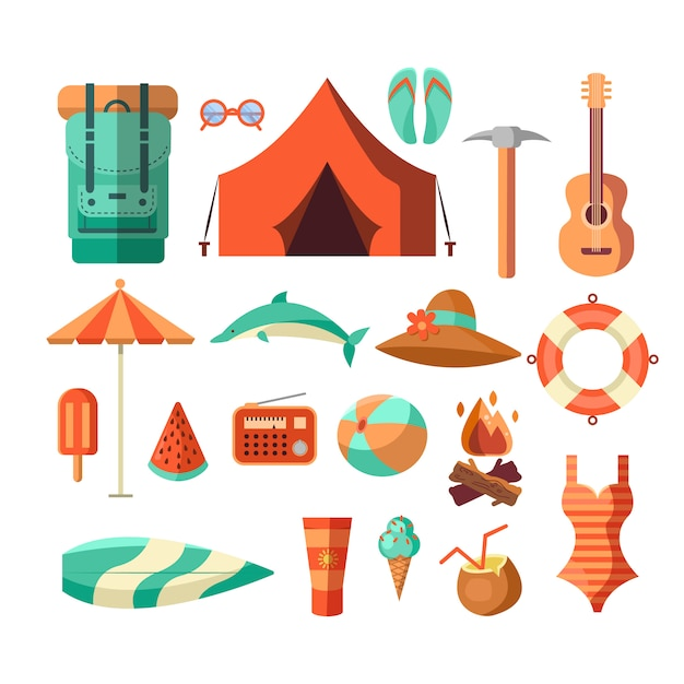 Camping desierto aventura insignia diseño gráfico logotipo emblema vector gratuito