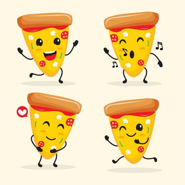 Pizza Dibujos Animados Vectores Fotos De Stock Y Psd Gratis