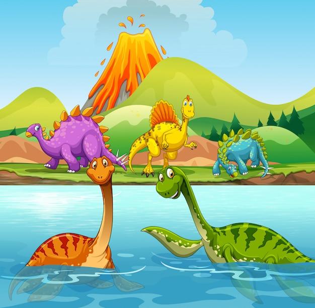 Una Caricatura De Dinosaurios Vector Premium Los dinosaurios de juguete son nuestra pasión, comienza tu colección con un dinosaurio schleich elige el tuyo en nuestra selección de dinosaurios de juguete de marketlace, y adentrarte en un. https www freepik es profile preagreement getstarted 3318857