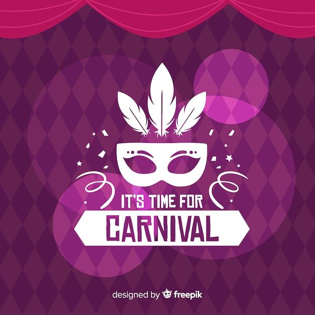 Carnaval vector gratuito