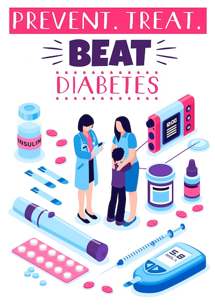 prevenir diabetes dibujos animados