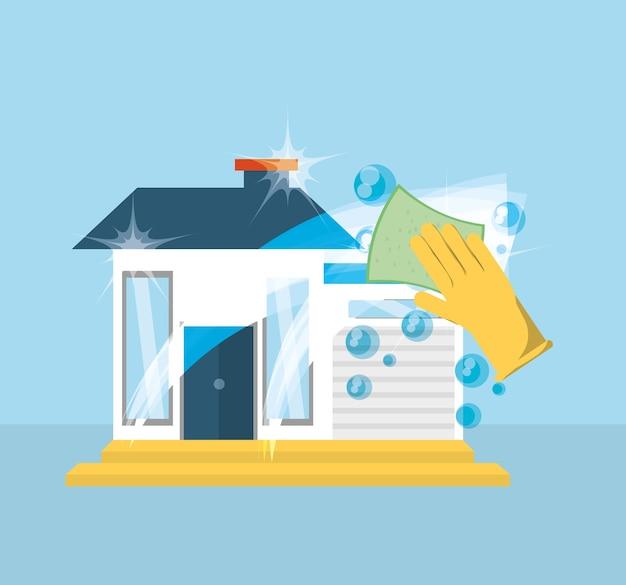 Servicio de limpieza de la casa tema de wordpress - Imagenes de limpieza de casas ...