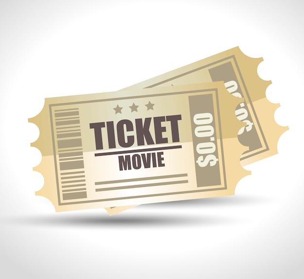 Cine de entretenimiento vector gratuito