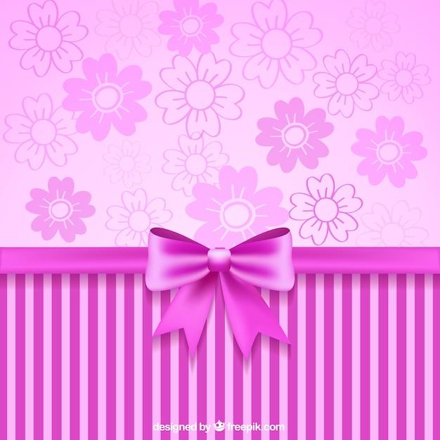 Cinta rosada y papel tapiz decorativo descargar vectores for Precio papel pared decorativo