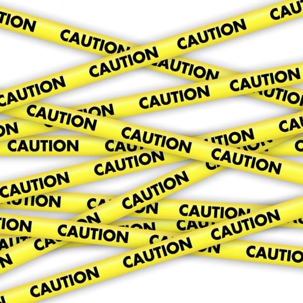 cintas de precauci u00f3n amarilla descargar vectores gratis Solid Tape Vector Caution Tape Frame