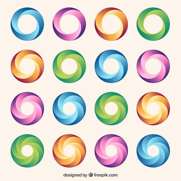 Círculos de colores | Descargar Vectores gratis