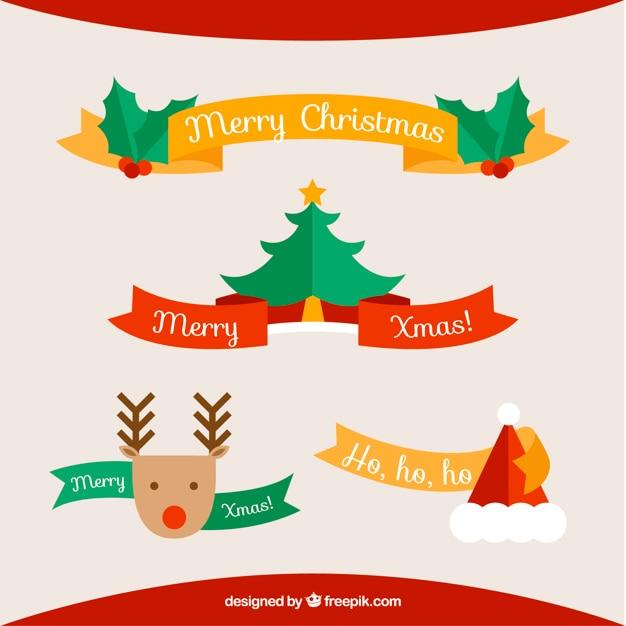 341b6df8eb175 Colección de bonitas cintas navideñas con elementos