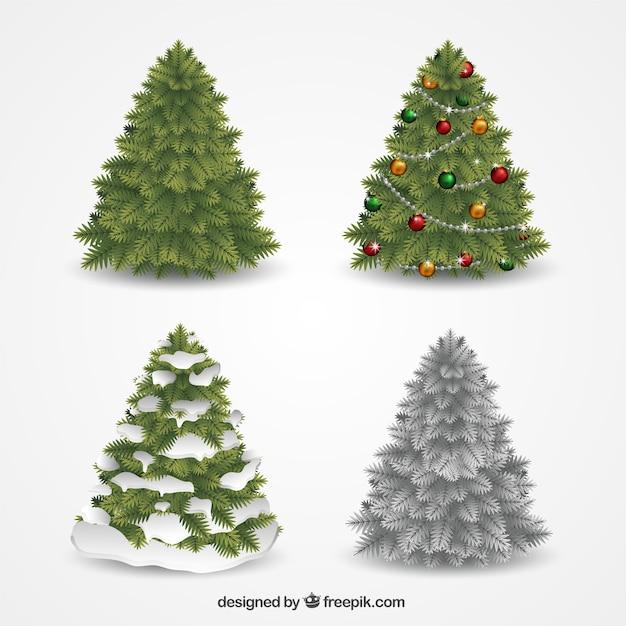 Colecci n de rboles de navidad decorativos descargar - Decorativos de navidad ...