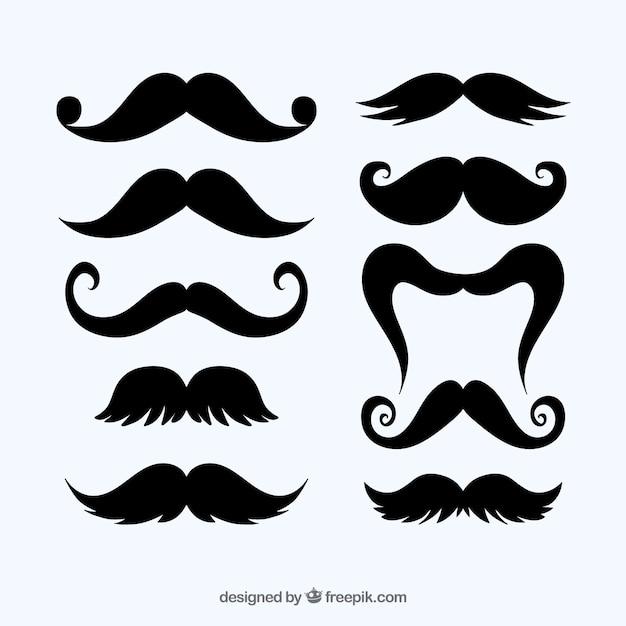 Colección de bigotes | Descargar Vectores gratis