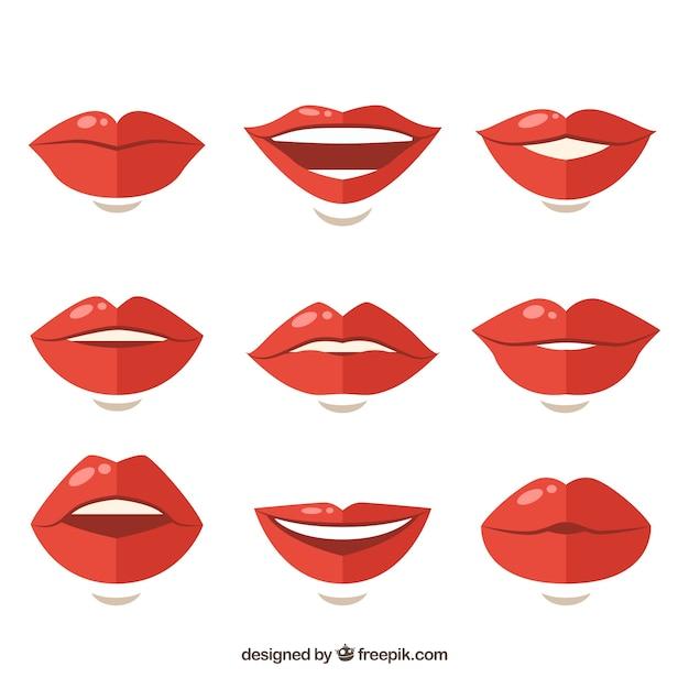 colecci u00f3n de labios rojos descargar vectores gratis lips clip art free png lips clip art black and white