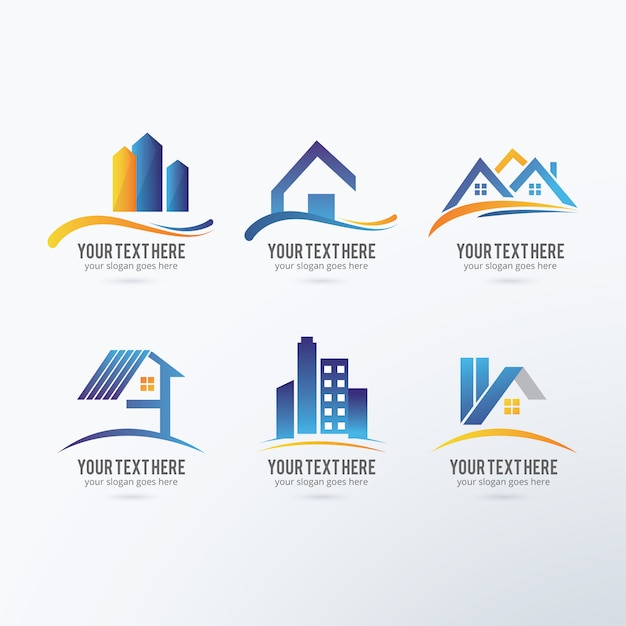 Logo para empresas construcci n gratis vector logos for Empresas construccion