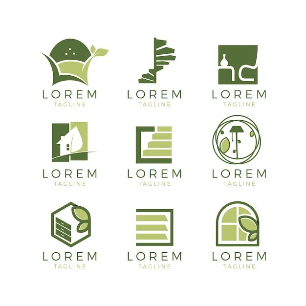 Colecci n de logos de muebles descargar vectores gratis for Cursos de muebleria gratis