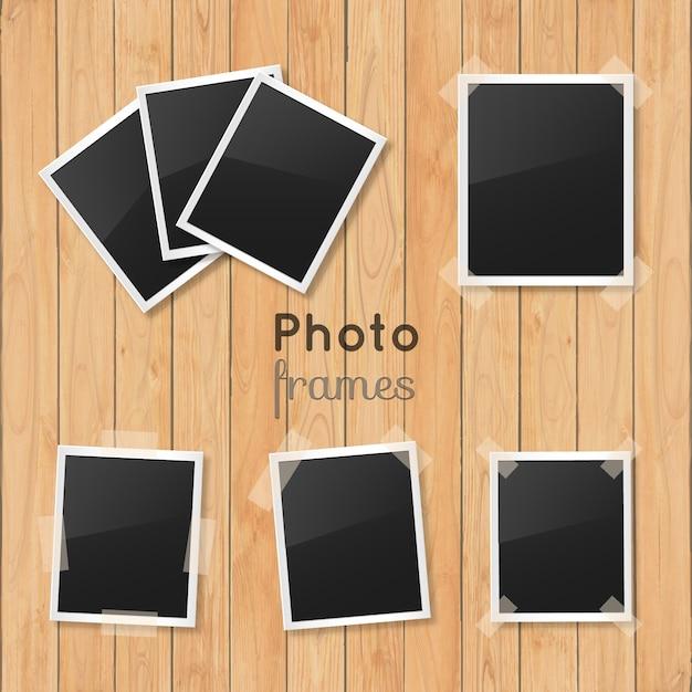 Colección de marcos polaroid | Descargar Vectores gratis