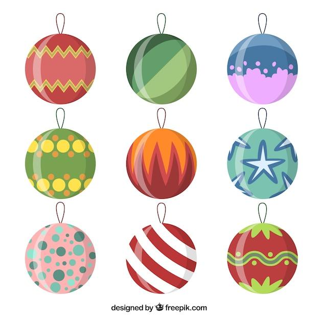 Colecci n de objetos de navidad descargar vectores premium - Objetos de navidad ...