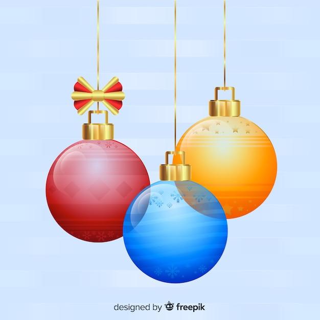 Coleccion Elegante De Bolas De Navidad Transparentes Descargar - Bolas-de-navidad-transparentes