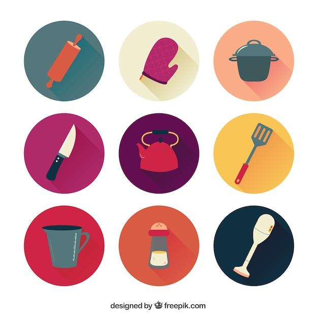 Iconos Cocina | Coleccion De Iconos De Cocina Descargar Vectores Premium