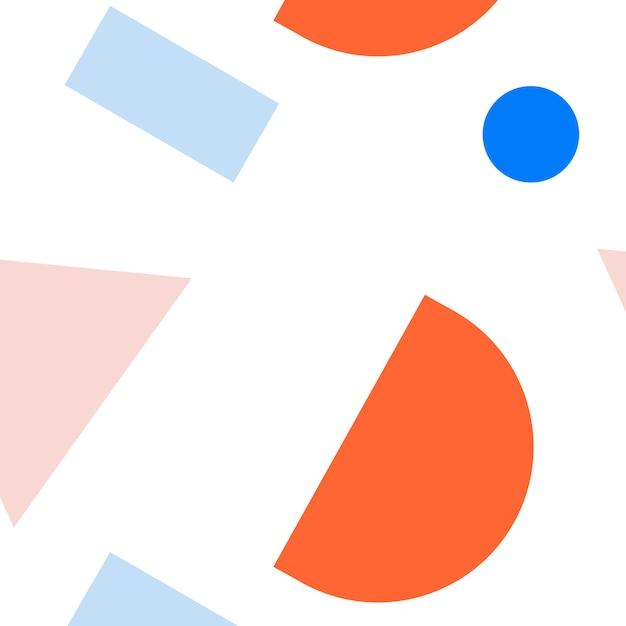 Colección de maquetas de patrón de memphis vector gratuito