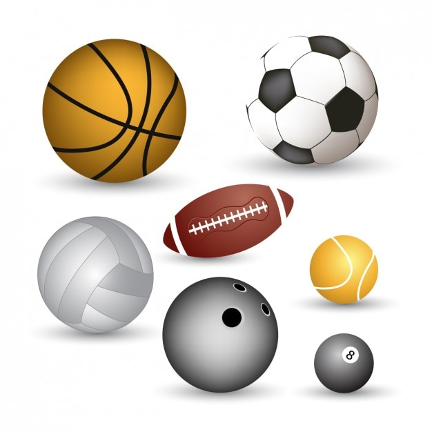 Colección de pelotas deportivas  a9724912cf207