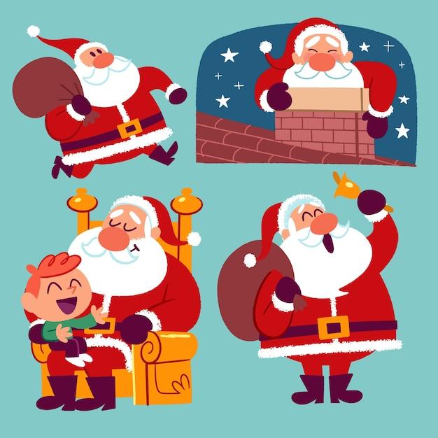 Papa Noel Vectores Fotos De Stock Y Psd Gratis