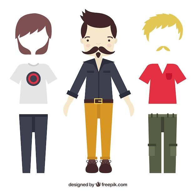 Colección de ropa de hombre en estilo urbano  9645b8faede