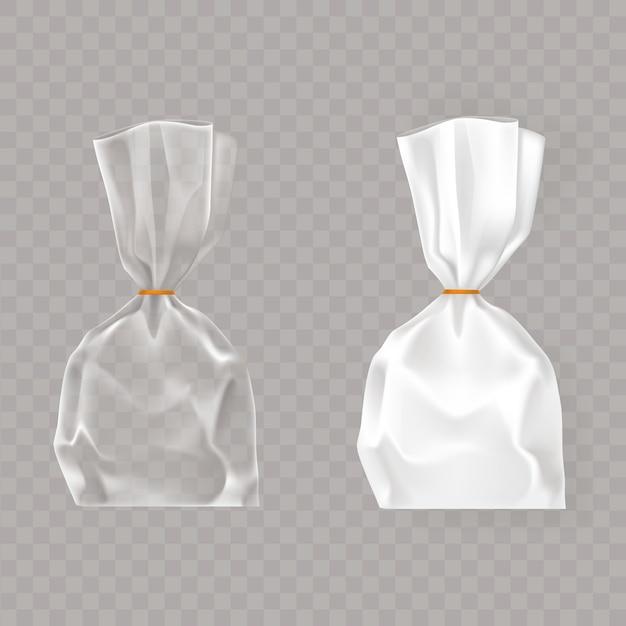 Colección simulacro, embalaje para productos de alimentación y aperitivos. vector gratuito