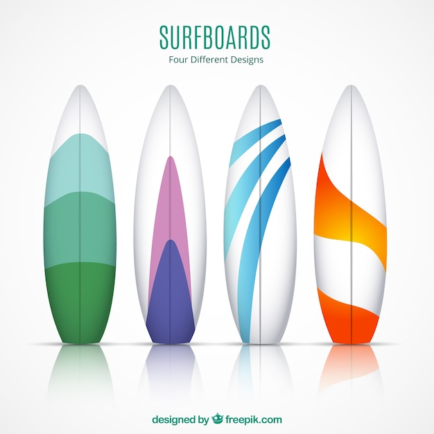 Colecci n tablas de surf descargar vectores gratis - Fotos de tabla de surf ...