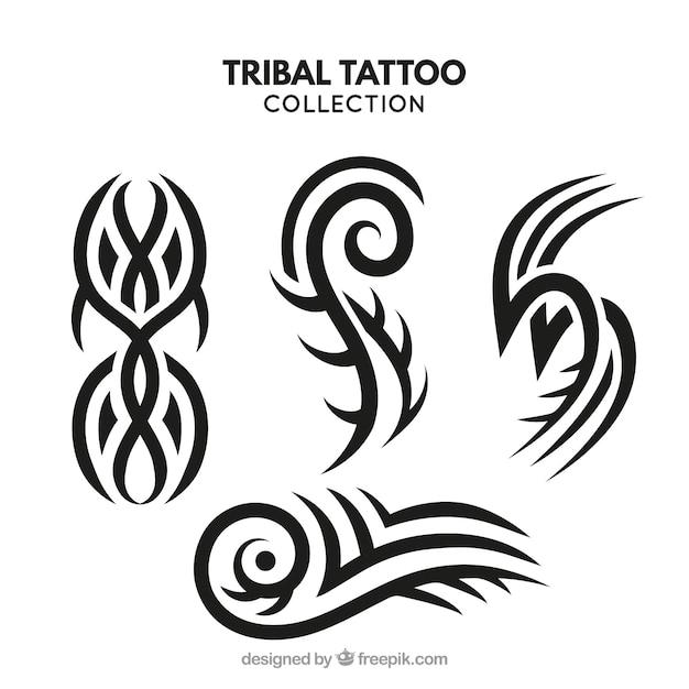 Colección De Tatuajes Tribales Pequeños Descargar Vectores Gratis