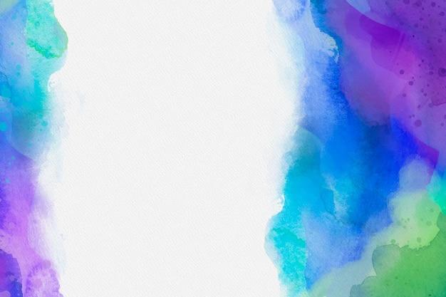 Colorido fondo acuarela vector gratuito