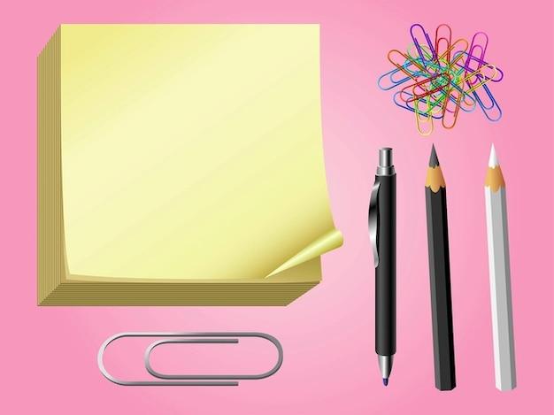 Coloridos elementos útiles escolares | Descargar Vectores gratis