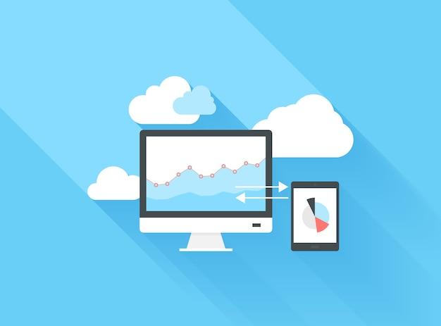 Computación en la nube Vector Premium