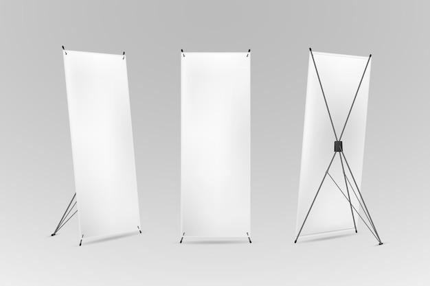 Concepto de banners de soporte x vector gratuito