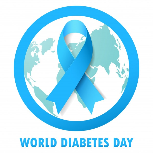 vectores de cinta de diabetes
