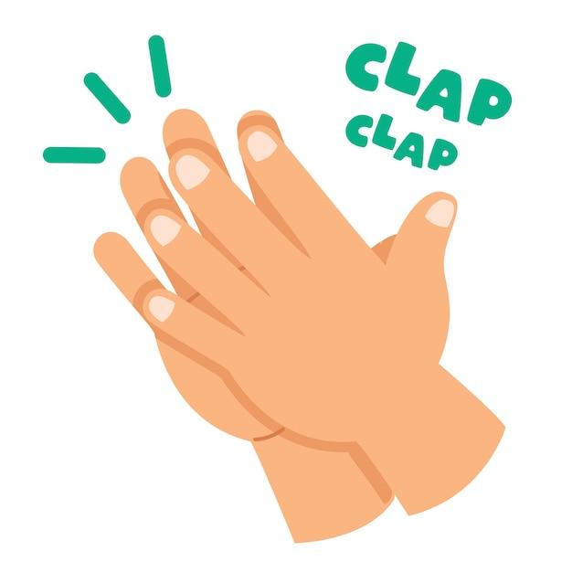 Resultado de imagen de clap dibujo