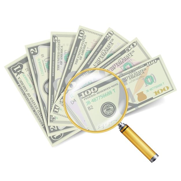 Concepto de éxito financiero Vector Premium