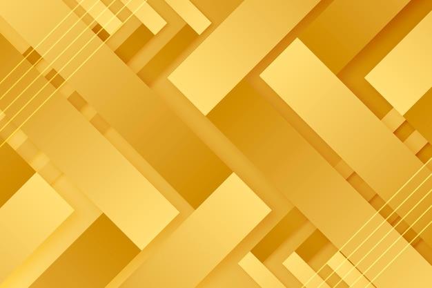 Concepto de fondo de lujo oro vector gratuito