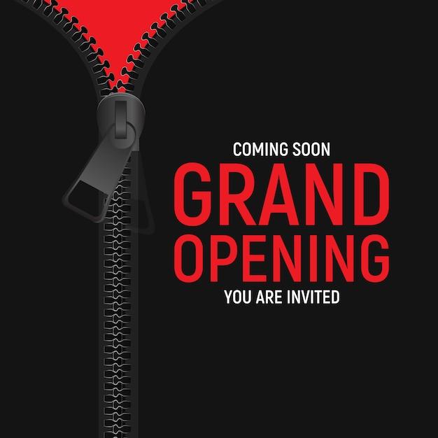 Concepto de gran apertura Vector Premium