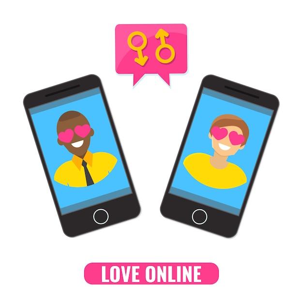 Concepto En Línea De Amor Citas En Línea Sitio De Citas