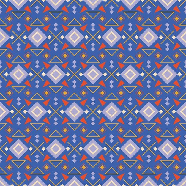 Concepto de patrón songket vector gratuito