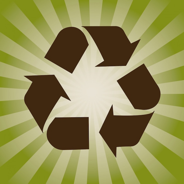 Concepto de reciclaje vector gratuito
