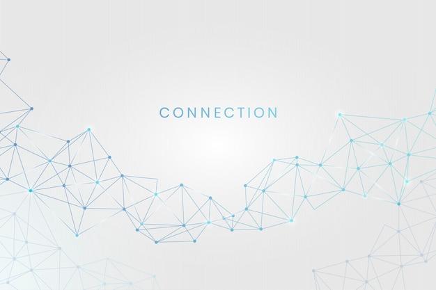 Conexión de red social vector gratuito