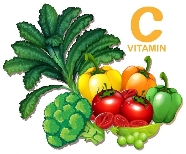 C encontrar vitamina en puedo que la alimentos