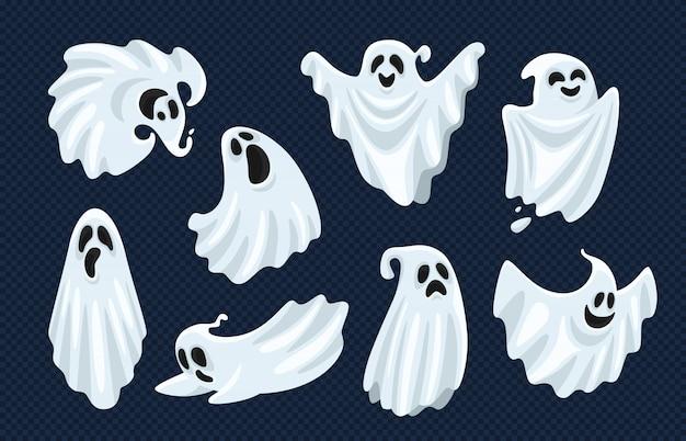 Conjunto de caracteres fantasma Vector Premium